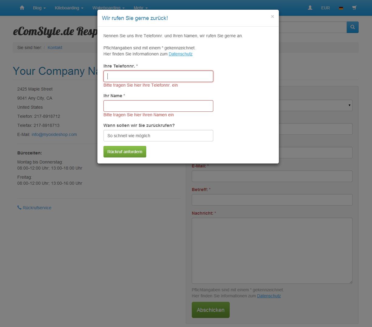 easyContact – einfachere Kontaktaufnahme, zeitgemäßer Spamschutz ...